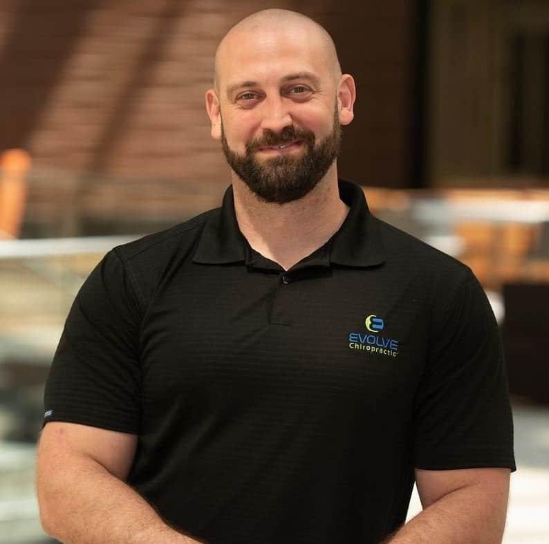 Dr Scott Cruse of Evolve Chiropractic