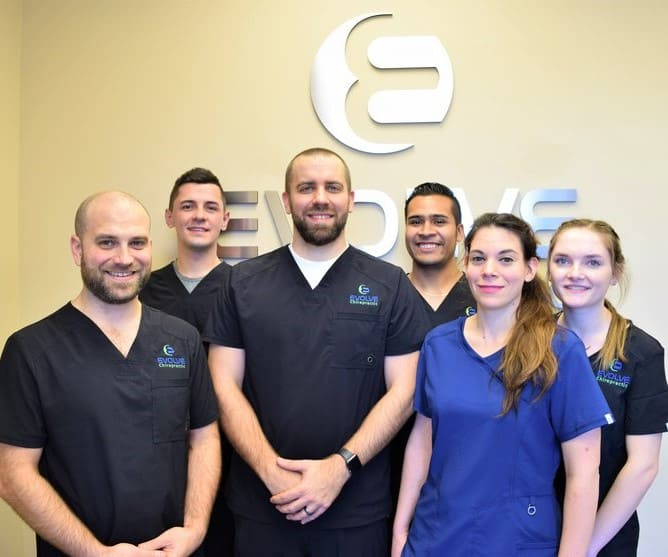 evolve chiropractic woodstock team